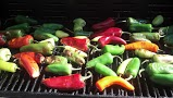 Peppers that I roasted on the grill....