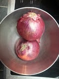 Red onions!