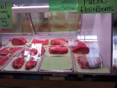 Fresh meats...