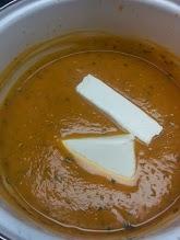 Cream cheese...