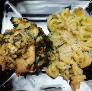 Chicken redo with pasta...