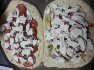 Oil Pizza...