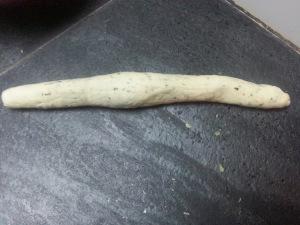 Worm shape...