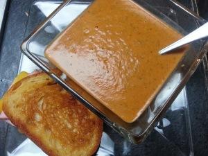 Tomato soup....