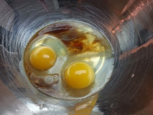 Eggs and the extracts...
