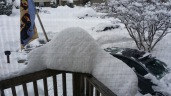 My railing out front of my house.