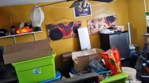 Hubby's office....