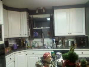 Sink area....