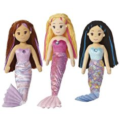 Meet just some of her collection of mermaids.